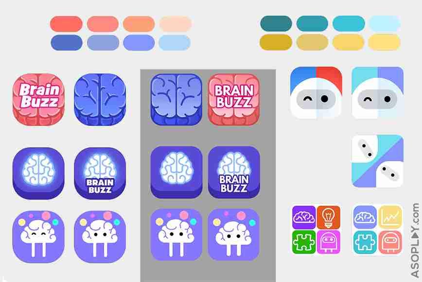 BrainBuzz icon pack
